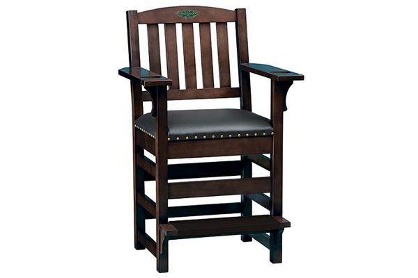 Large image of Brunswick Espresso Centennial Player's Chair - 51870728003