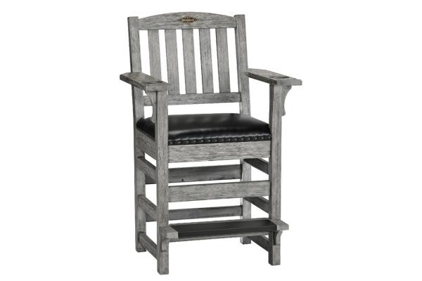 Large image of Brunswick Rustic Grey Centennial Player's Chair - 51870728005