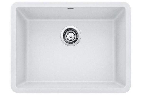 "Blanco Precis 24"" Undermount White Single Bowl Sink - 522414"