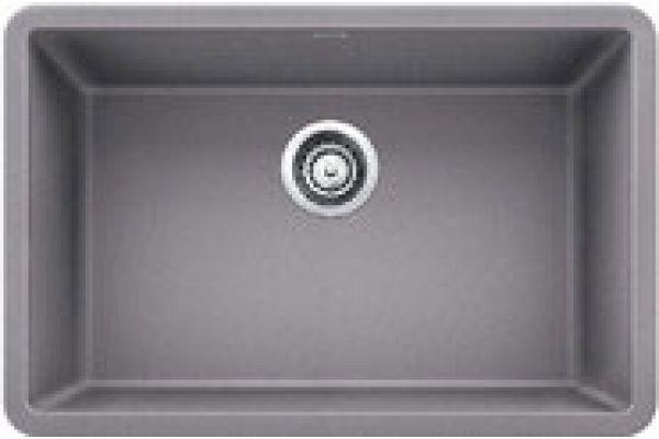 "Blanco Precis 27"" Grey Single Bowl Granite Composite Sink - 522428"