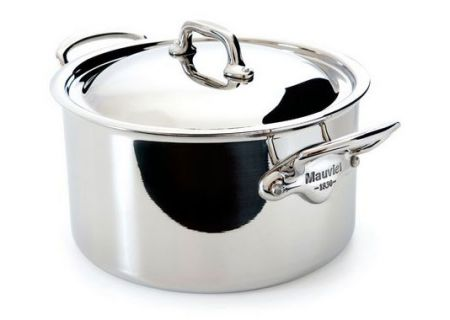 Mauviel M'Cook 9.1 Qt Stainless Steel Stew Pot & Lid  - 523129