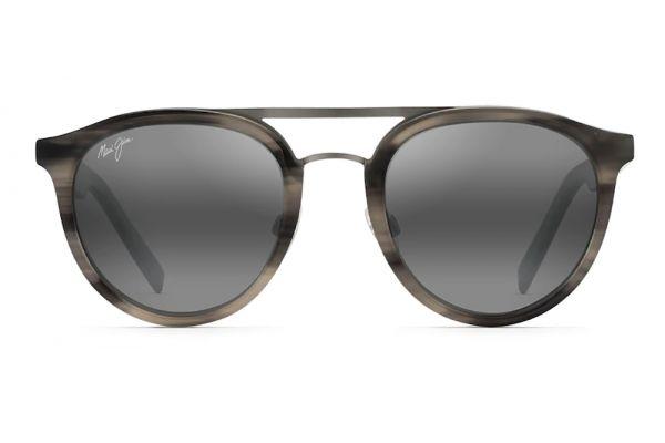 Large image of Maui Jim Sunny Days Grey Horn Polarized Womens Sunglasses - 529-14H