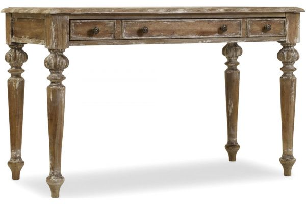 Large image of Hooker Furniture Home Office Light Wood Chatelet Writing Desk - 5300-10482