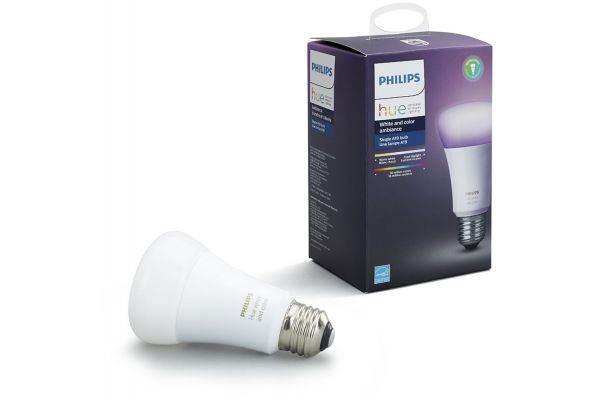 Philips Hue E26 White And Color Ambiance Single Bulb - 530210