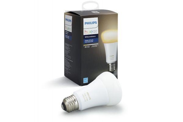 Large image of Philips Hue E26 White Ambiance Single Bulb - 530279