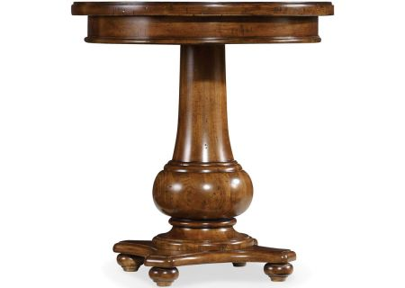 Hooker Furniture Living Room Medium Wood Tynecastle Round End Table - 5323-80116