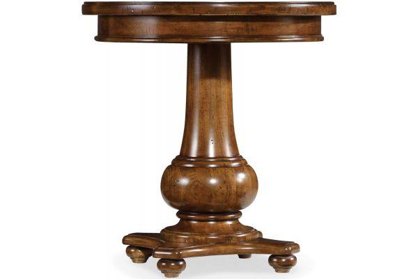 Hooker Furniture Living Room Medium Wood Tynecastle Round End Table - 5323-80116