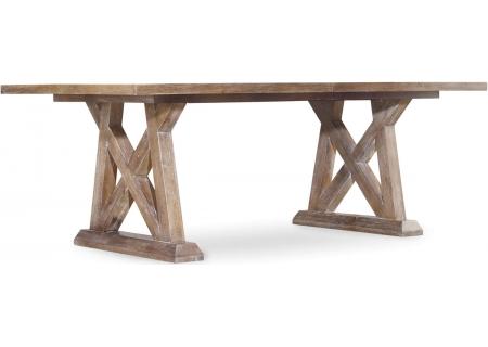 Hooker Furniture Scandinavian Dining Room Studio 7H Geo Trestle Dining Table - 5382-75207