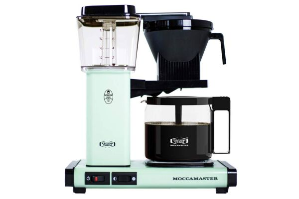 Large image of Technivorm Moccamaster 10-Cups KBG Pistachio Coffee Maker - 53951