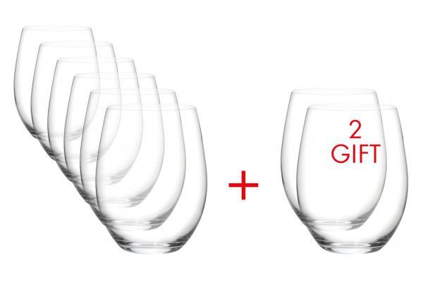 Riedel O Wine Tumbler Cabernet/Merlot Glass Set - 5414/80