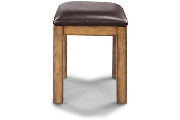 Large image of Homestyles Sedona Toffee Vanity Bench - 5420-28