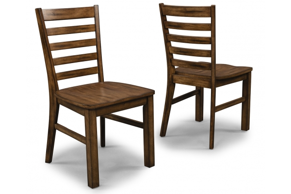 Large image of Homestyles Sedona Toffee 2-Piece Dining Chair Set - 5420-80
