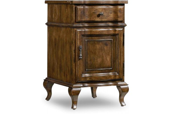 Large image of Hooker Furniture Archivist Accent Chairside Chest - 5447-50003