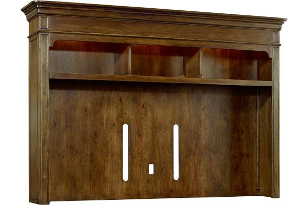 Large image of Hooker Furniture Home Entertainment Archivist Console Hutch - 5447-55585
