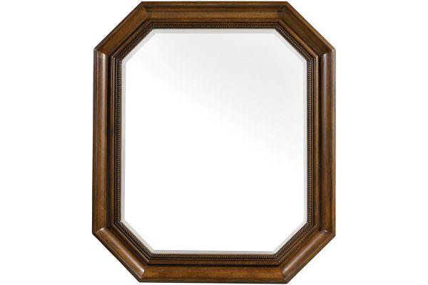 Large image of Hooker Furniture Bedroom Archivist Portrait Mirror - 5447-90008