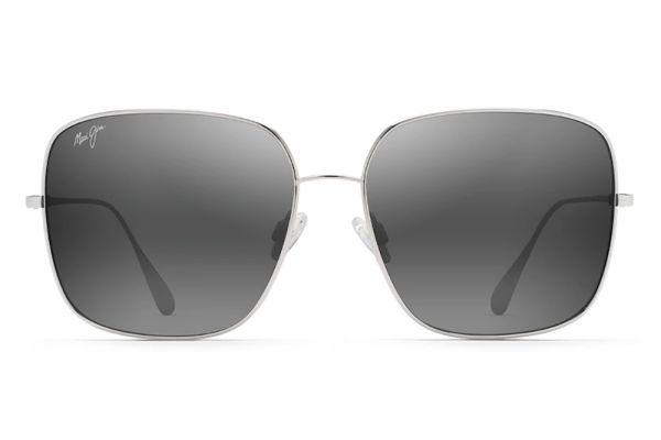Large image of Maui Jim Triton Silver Polarized Womens Sunglasses - 546-17