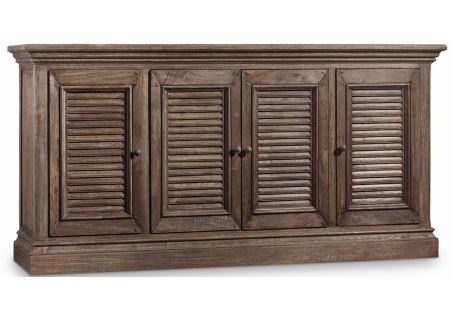 "Hooker Furniture 72"" Dark Wood Home Entertainment Console - 5484-55472-DKW"