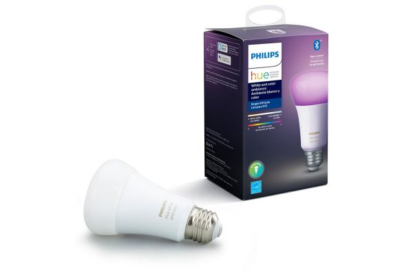 Large image of Philips Hue E26 White And Color Ambiance Single Bulb - 548487