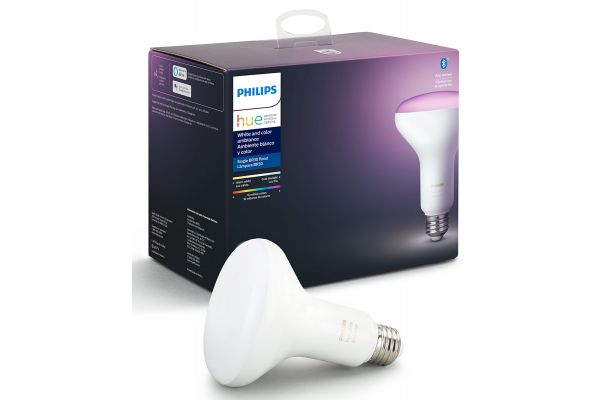 Large image of Philips Hue BR30 E26 White And Color Ambiance Single Bulb - 548503