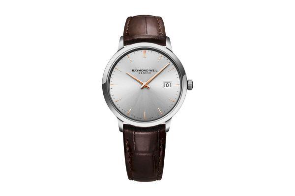 Raymond Weil Toccata Silver Quartz Mens Watch - 5485SL565001