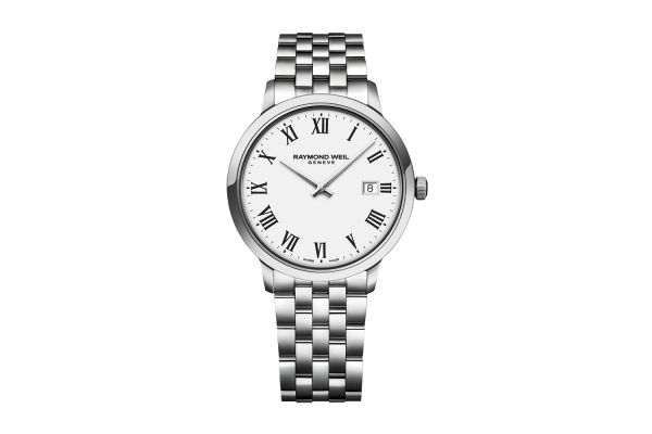 Large image of Raymond Weil Toccata Classic White Dial Quartz Mens Watch - 5485ST00300