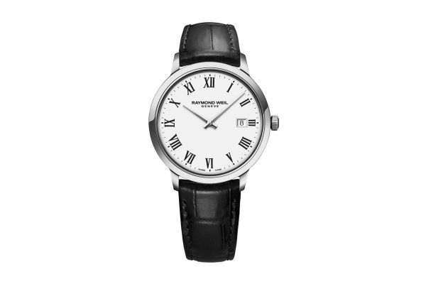 Large image of Raymond Weil Toccata Classic White Dial Quartz Mens Watch - 5485STC00300