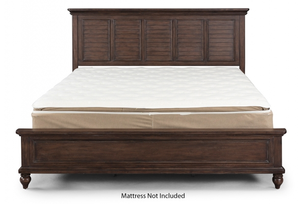 Large image of Homestyles Southport Distressed Oak King Bed - 5503-600