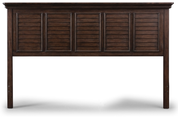 Large image of Homestyles Southport Distressed Oak King/California King Headboard - 5503-601