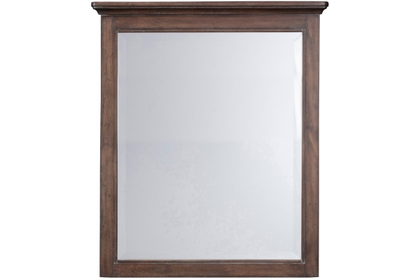 Large image of Homestyles Southport Distressed Oak Mirror - 5503-78