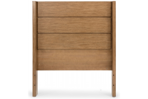 Large image of Homestyles Big Sur Oak Twin Headboard - 5506-401