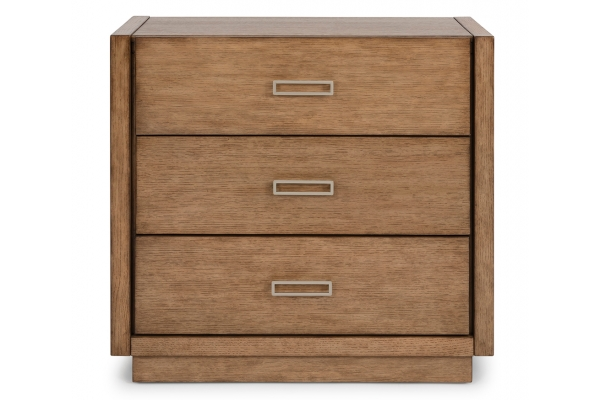 Large image of Homestyles Big Sur Oak 3-Drawer Chest - 5506-41