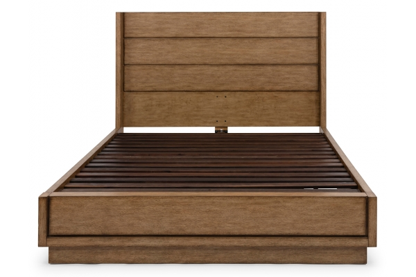 Large image of Homestyles Big Sur Oak Queen Bed - 5506-500