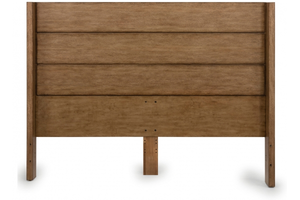 Large image of Homestyles Big Sur Oak Queen/Full Headboard - 5506-501