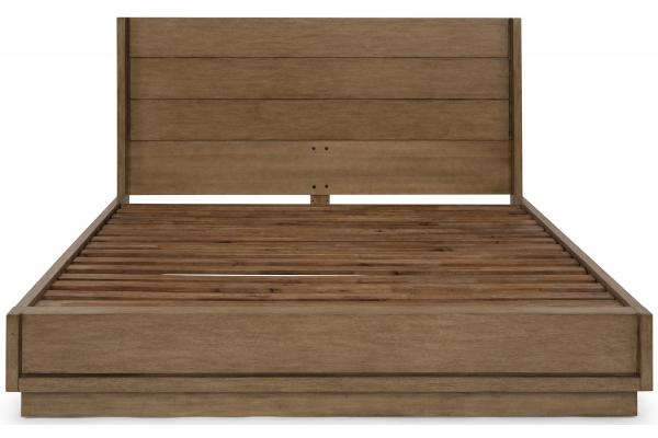 Large image of Homestyles Big Sur Oak King Bed - 5506-600