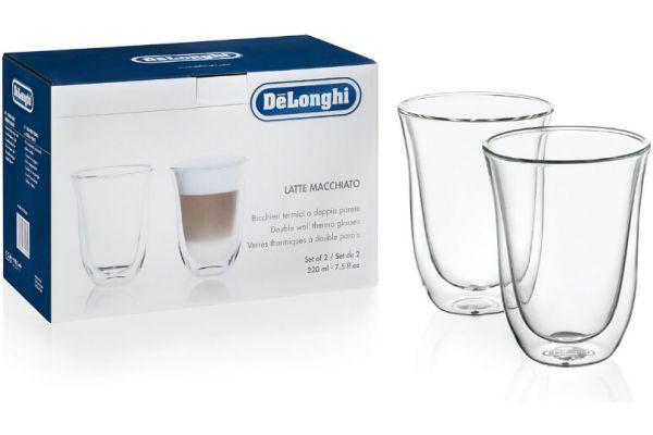 Large image of DeLonghi Latte Macchiato Glasses - 5513214611