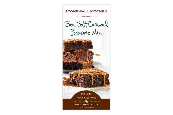 Large image of Stonewall Kitchen Sea Salt Caramel Brownie Mix - 553149