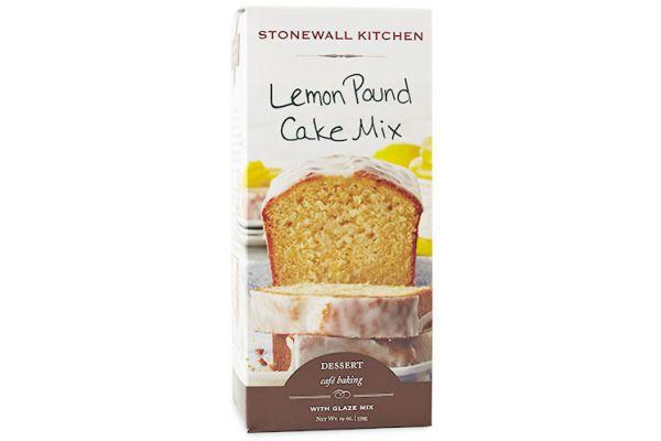 Large image of Stonewall Kitchen Lemon Pound Cake Mix - 553916