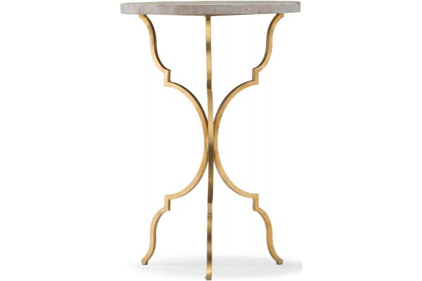 Hooker Furniture Living Room Round Martini Table - 5540-50001-GLD