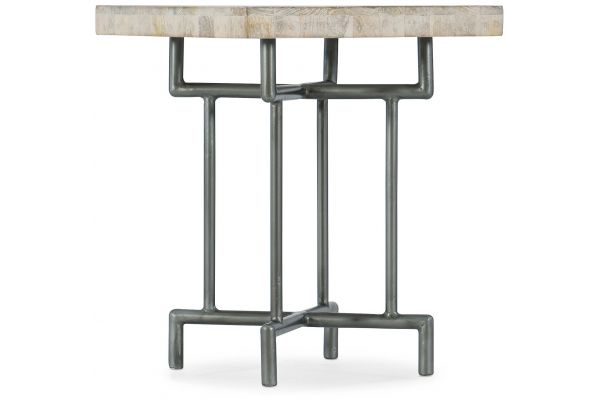 Large image of Hooker Furniture Living Room Square End Table - 5560-80113-LTWD