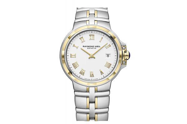Raymond Weil Parsifal Quartz Classic White Dial Mens Watch - 5580STP00308
