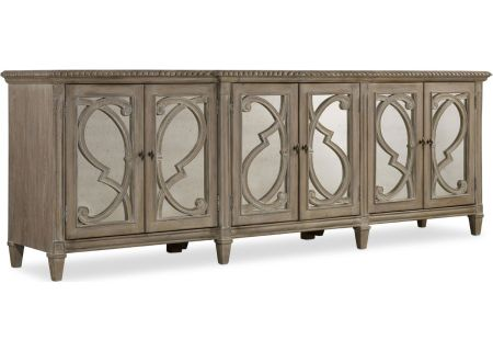 Hooker Furniture Living Room Light Wood Solana Six Door Console - 5591-85001