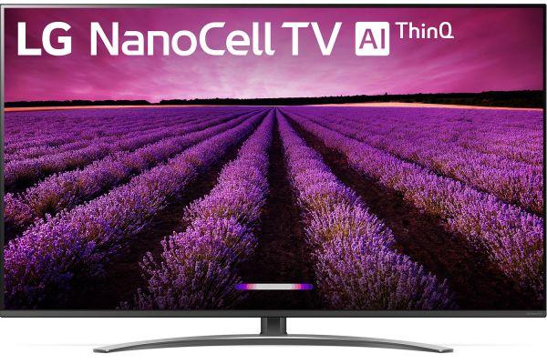 "LG 65"" Black 4K HDR Smart LED NanoCell TV With AI ThinQ - 65SM8100AUA"