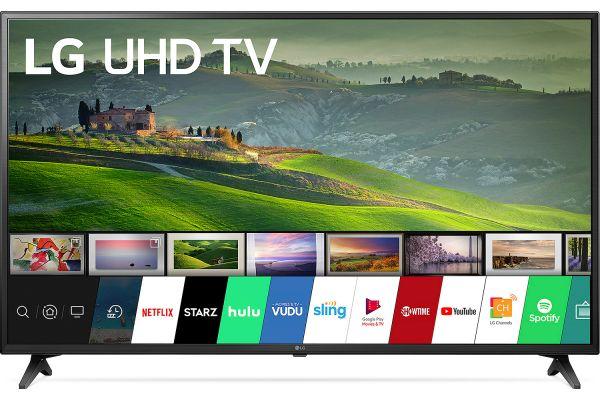 "LG 55"" Black UHD 4K HDR Smart LED HDTV With WebOS - 55UM6910PUC"