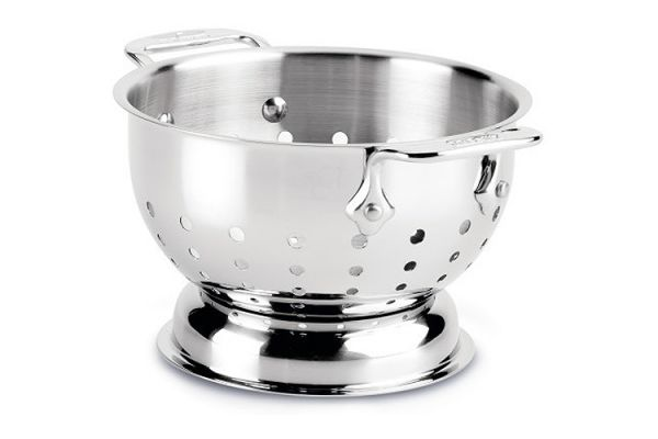 Large image of All-Clad Stainless Steel 1.5 Quart Colander - 56015