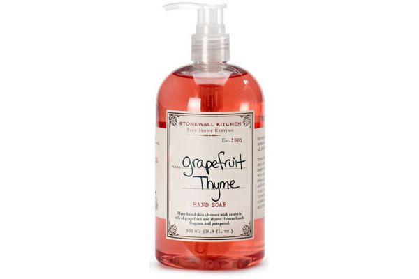 Large image of Stonewall Kitchen Grapefruit Thyme Hand Soap - 5625012
