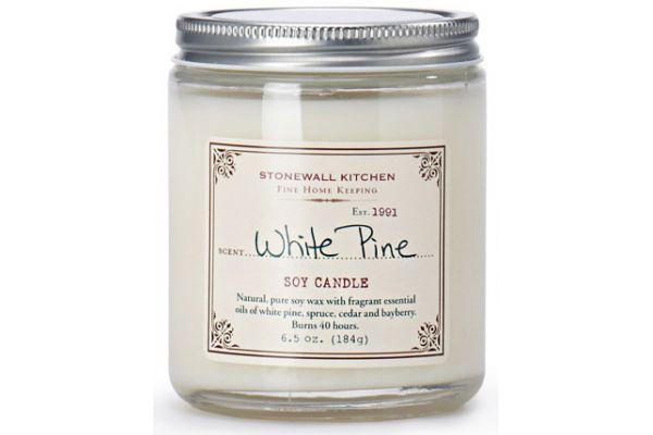 Large image of Stonewall Kitchen White Pine Soy Candle - 5625094