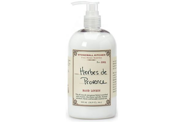 Large image of Stonewall Kitchen Herbes De Provence Hand Lotion - 5625150