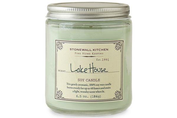 Large image of Stonewall Kitchen Lake House Soy Candle - 5625230