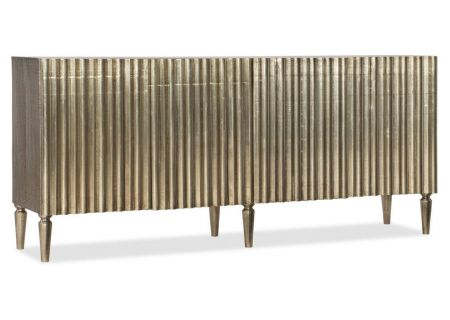 Hooker Furniture Living Room German Silver Console - 5637-85001-SLV