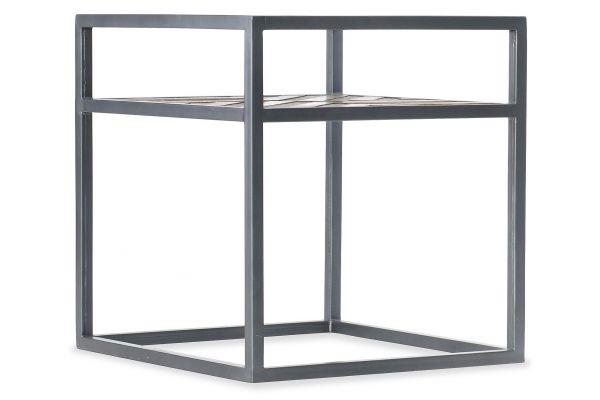 Large image of Hooker Furniture Living Room Rectangle End Table - 5649-80113-MWD